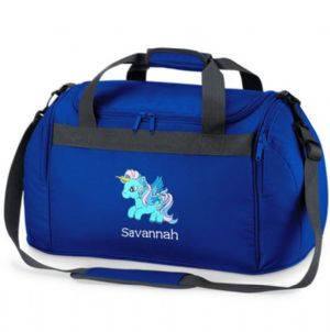Personalised UNICORN Horse Bag Mini Holdall  BG200